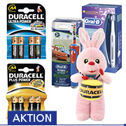 Duracell Aktionspaket Sommer 2014